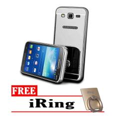 Beli Case Metal For Samsung Galaxy J2 Prime Aluminium Bumper With Mirror Backdoor Slide Black Free Iring Nyicil