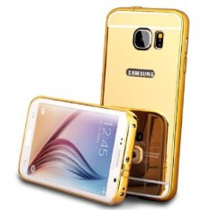Case Mirror For Samsung Galaxy A5 New 2016 / A510 2 in 1 Hardcase Bumper Metal
