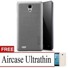 Case Nilkin Hard Protective For Oppo Joy 3 + Free Ultrathin - Black