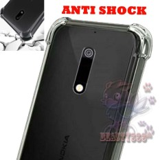 Case Nokia 5 Ultrathin Anti Crack Luxury Softcase Anti Jamur Air Case 0.3mm / Silicone Nokia 5 / Soft Case / Silikon Anti Crack / Case Jelly Nokia 5 / Case Anti shock / Ultrathin Anti crack - Transparant