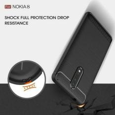 Miliki Segera Case Nokia 8 Carbon Fiber Hybird Armor Case Nokia 8 Back Case