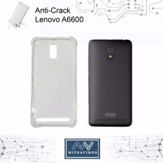 Case Oem Anti Shock / Anti Crack Elegant Softcase for Lenovo A6600 - White Clear