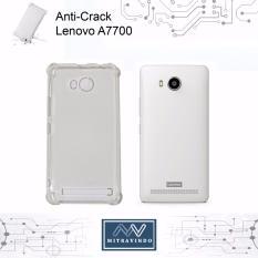 Case Oem Anti Shock / Anti Crack Elegant Softcase for Lenovo A7700 - White Clear