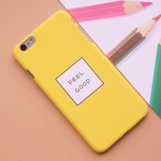 Case Premium Hardcase Iphone 6/6S Feel Good - Yellow