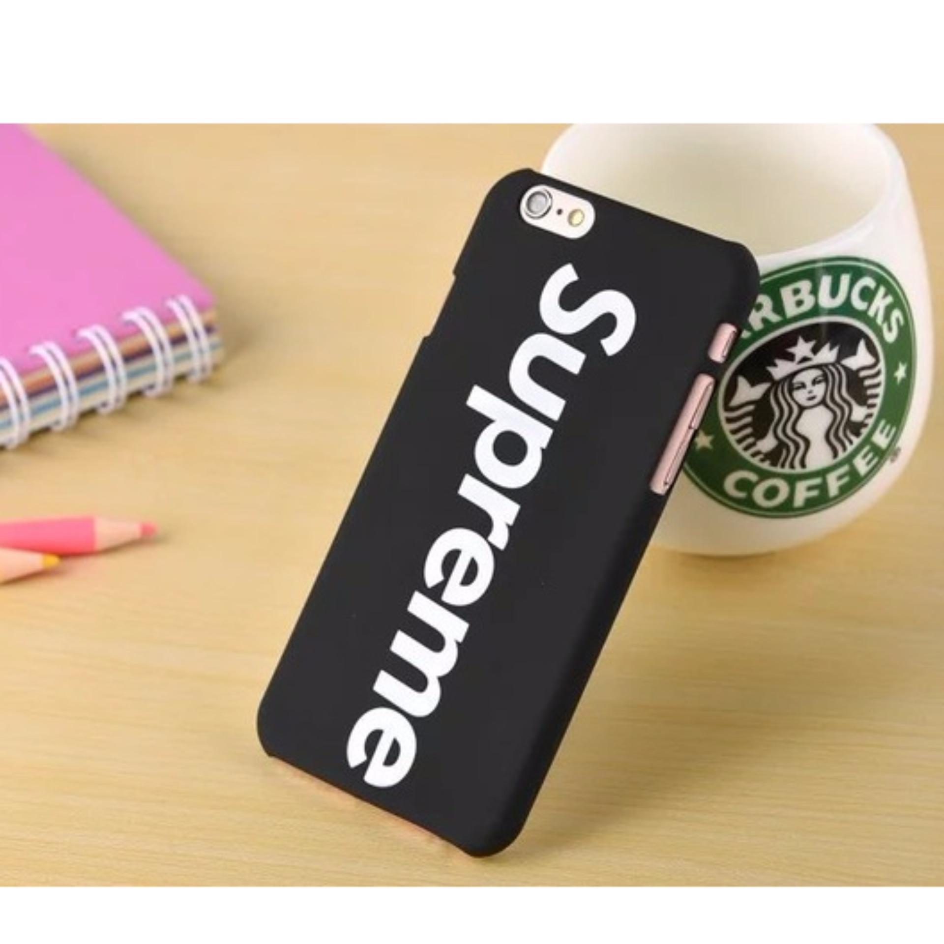 Case Premium Hardcase iPhone 6 6S Supreme Black
