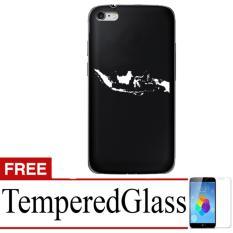 Case Presiden Jokowi for Iphone 6 4,7 + Free TemperredGlass - Hitam