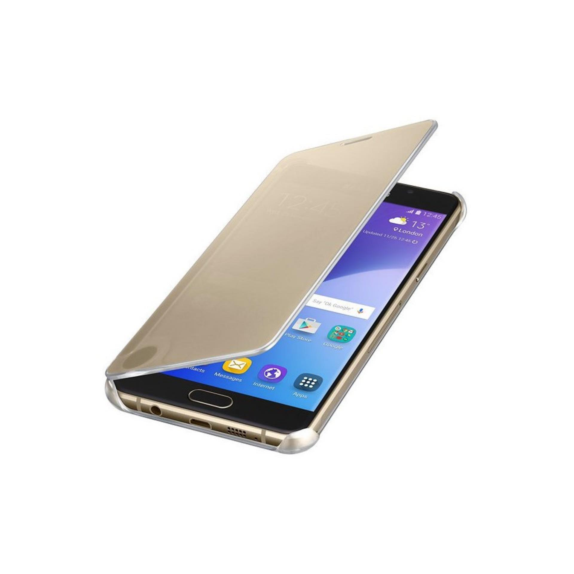 Harga Case Samsung Galaxy A5 2017 Flipcase Flip Mirror Cover S View Transparan Casing Hp Gold Branded