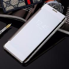 Beli Case Samsung Galaxy A7 2017 A720 Flipcase Flip Mirror Cover S View Transparan Auto Lock Casing Hp Silver Pakai Kartu Kredit