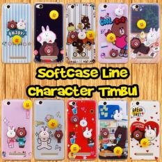 Case Samsung Galaxy J5 2016 Softcase Line Character Timbul (RANDOM) RL