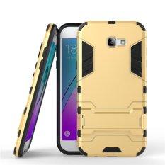 Case Samsung Galaxy J7 2017 4G LTE Transformer Robot Casing Iron Man - Gold