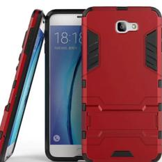 Case Samsung Galaxy J7 Prime Robot Rudge With Stand Series - Merah