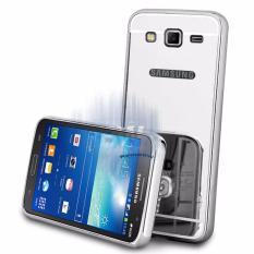 Case Samsung Galaxy Grand Prime Bumper Slide Mirror Samsung G530 / HardCase Metal Glossy / Casing