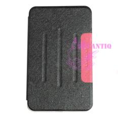 Case Samsung Galaxy Tab 4 Ukuran 8 inch / Samsung Galaxy T330 / T331 Flip Cover Samsung Tab 4 / Leather Case Samsung Tab4 / Sarung Dompet Samsung T330 / Sarung Samsung T331 / Sarung Handphone - Hitam