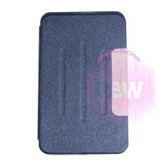 Case Samsung Galaxy Tab 4 ukuran 8 Inch / Samsung Galaxy T330 / T331 FlipCover Samsung Tab 4 / Leather Case Samsung Tab4 / Sarung Dompet Samsung T330 / Sarung Samsung T331 / Sarung Handphone - Dark Blue