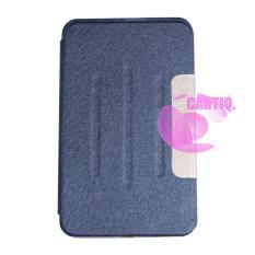 Case Samsung Galaxy Tab 4 Ukuran 8 Inch / Samsung Galaxy T330 / T331 FlipCover Samsung Tab 4 / Leather Case Samsung Tab4 / Sarung Dompet Samsung T330 / Sarung Samsung T331 / Sarung HP - Biru Tua