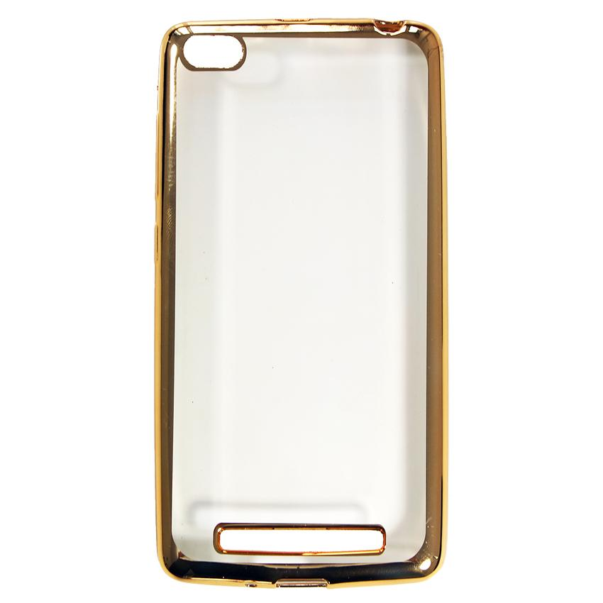 Case Shining Chrome Softcase Oppo Neo 7 A33W - Gold