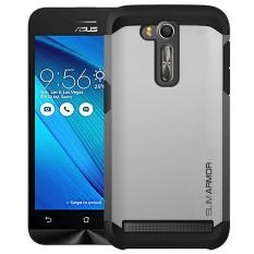 Review Case Slim Armor For Asus Zenfone G0 5 5Inch Zb551Kl Silver Terbaru
