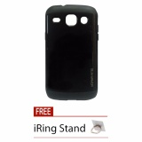 Review Case Slim Armor For Samsung Galaxy Core 1 I8262 I8262 Hitam Free Iring Stand