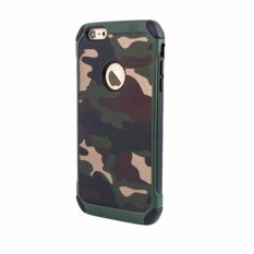 Case Slim Army Protection Hard Case for iPhone 7 PLUS - Green Army