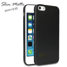 Case Slim Black Matte Iphone 5 5S 5SE Baby Skin Softcase Ultra Thin Jelly Silikon Babyskin