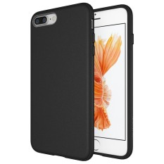 Case Slim Black Matte iPhone 8 Plus Softcase Black