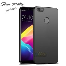 Case Slim Black Matte Oppo F5 Youth Baby Skin Softcase Ultra Thin Jelly Silikon Babyskin