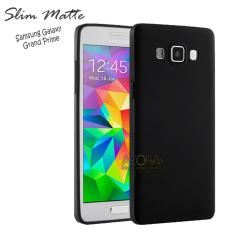 Case Slim Black Matte Samsung Galaxy Grand Prime G530 Baby Skin Softcase Ultra Thin Jelly Silikon B