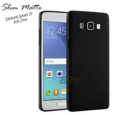 Case Slim Black Matte Samsung Galaxy J7 2015 Baby Skin Softcase Ultra Thin Jelly Silikon Babyskin