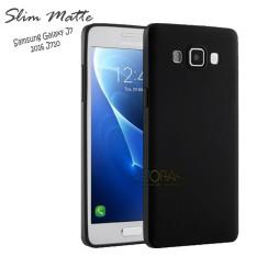 Case Slim Black Matte Samsung Galaxy J7 2016 Baby Skin Softcase Ultra Thin Jelly Silikon Babyskin