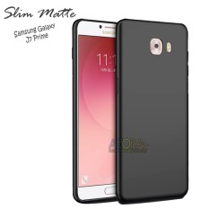 Case Slim Black Matte Samsung Galaxy J7 Prime Baby Skin Softcase Ultra Thin Jelly Silikon Babyskin