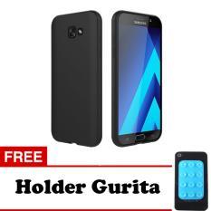 Case Slim Black Matte Samsung Galaxy J7 Prime Softcase Baby Skin + Free Holder Gurita