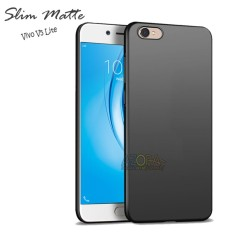 Case Slim Black Matte Vivo V5 Lite Baby Skin Softcase Ultra Thin Jelly Silikon Babyskin