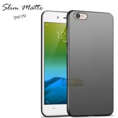 Case Slim Black Matte Vivo Y53 Baby Skin Softcase Ultra Thin Jelly Silikon Babyskin