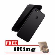 Case Slim Black Matte Xiaomi Mi 5x / Mi A1 Softcase Baby Skin + Free iRing