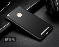 Case Slim Black Matte Xiaomi Redmi 3 Pro Softcase Anti minyak