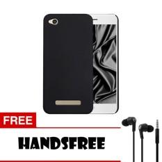 Case Slim Black Matte Xiaomi Redmi 4A Softcase Black + Free Handsfree