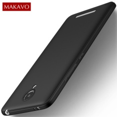 Case Slim Black Matte Compatible For Xiaomi Redmi Note 2 Softcase Anti minyak