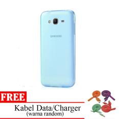 Case Softcase Ultrathin Elegant Aircase for Samsung Galaxy J3 Pro - Clear + Free 1x Kabel data/charger lucu (warna random)