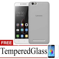 Case Softcase Ultrathin For Lenovo A2020/Vibe c + Free TemperredGlass - Black