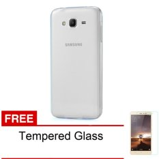 Case Softcase Ultrathin for Samsung Galaxy Grand 2 / G7102 -  Clear + Free Tempered Glass