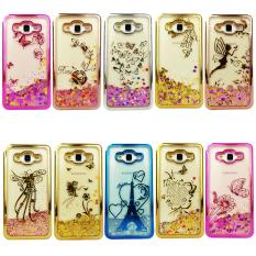 Case Softcase Water Glitter Shining Chrome 2 Motif For Samsung Galaxy A72017- MOTIF RANDOM(BEBAS)