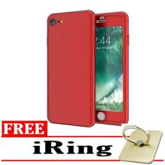 Beli Case Spigen Candy Premium Front Back 360 Degree Full Protection With Tempered Glass For Iphone 6 Plus 6S Plus Red Free Iring Lengkap