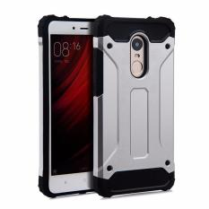 Review Case Spigen Tough Armor Xiaomi Redmi Note 3 Silver Terbaru