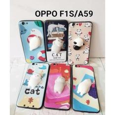 Rp 23.500. Case Squishi Silikon Softcase 3D Squishy OPPO F1S/A59 Case Boneka Timbul - Random KarakterIDR23500