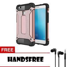 Case  Tough Armor Carbon for Huawei P9 Lite - Rose +  Free Handsfree