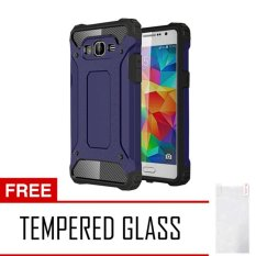 Harga Case Tough Armor Carbon For Samsung Galaxy J2 Prime Series Biru Free Tempered Glass Online