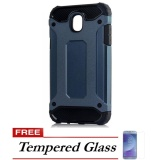 Model Case Tough Armor Carbon For Samsung Galaxy J7 Pro Biru Free Tempered Glass Terbaru