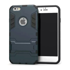 Case TPU + PC Hard Case for iPhone 5 / 5s / SE - Black
