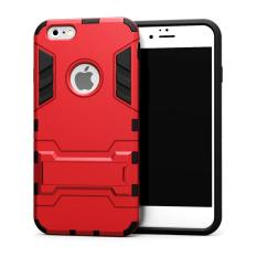 Case TPU + PC Hard Case for iPhone 5 / 5s / SE - Red
