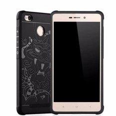 Case TPU Phone Case Dragon Back Cover Original for Xiaomi Redmi 3 pro / 3s / Prime - Black